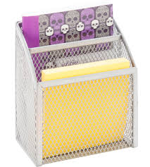 Wall Mounted Paper Organizer Magnetic Office Organizers And Pencil Cups Organize It
