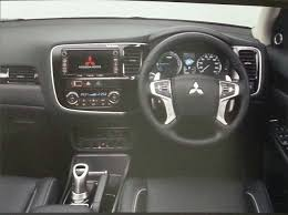 outlander mitsubishi 2015 interior 2016 mitsubishi outlander facelift dashboard brochure indian