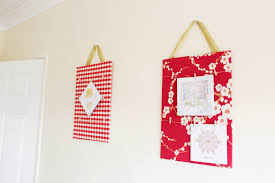 diy christmas card display wall hangings christmas card display