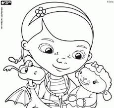 doc mcstuffins free coloring pages art coloring pages