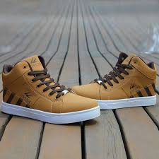 Light Brown Color Color Splicing Striped Pattern Tie Up Casual Shoes In Light Brown
