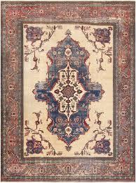 antique shabby chic persian khorassan rug 48035 by nazmiyal