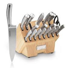 normandy collection 19 pc cutlery block set