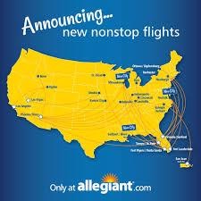 Allegiant Route Map Bobby Spann Bspann30 Twitter