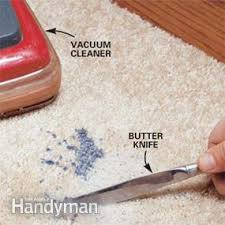 How To Get Wax Off Wood Table How To Get Wax Out Of Carpet Family Handyman