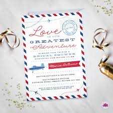 love is our greatest adventure travel theme bridal shower