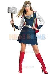 Woman Superhero Halloween Costumes Thor Superhero Costume Promotion Shop Promotional Thor
