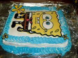 spongebob squarepants cake spongebob squarepants frozen butter transfer