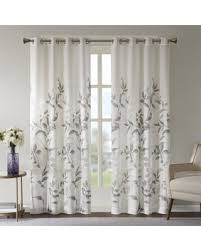 84 Inch Curtains Amazing Deal On The Grey Barn Yturria Grey Printed Curtain Panel