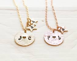 Personalized Family Necklace Family Necklace Etsy