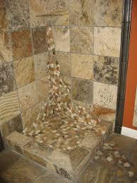 river rock bathroom awesome tile flooring of river rock floor tile