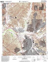 Santa Clarita Map Newhall Topographic Map Ca Usgs Topo Quad 34118d5