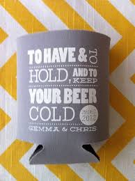 custom wedding koozies etsy 200 custom wedding koozies to and to hold and t
