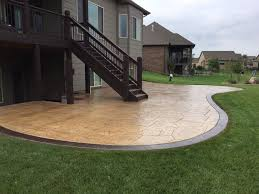 Concrete Patio Design Pictures Best Patio Designs Pool Remodeling Wichita Sted Concrete Dirt