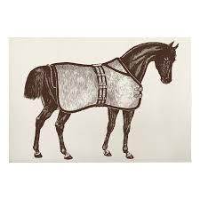 Luxurious Bath Rugs Thoroughbred Horse Bath Mat
