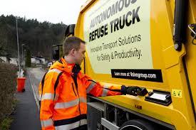 volvo trucks na volvo trucks a renova testujú autonómne vozidlo na zber odpadu