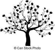 rowan tree beautiful for your design vectors illustration