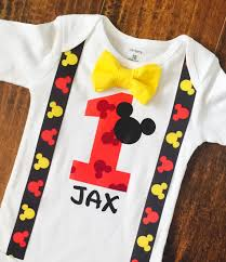 mickey mouse 1st birthday shirt personalized birthday shirts for boys birthday
