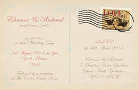 wedding postcards postcard wedding invitations black w i