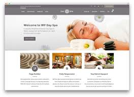 25 beautiful spa beauty hair salon wordpress themes website