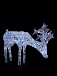 outdoor reindeer decorations lighted 36 images set of 2