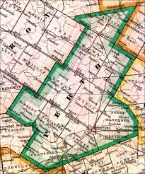 Large Scale Map The Changing Shape Of Ontario County Of Perth