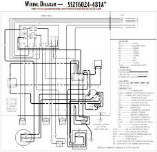 goodman heat pump thermostat wiring diagram on goodman package