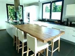 table ilot cuisine haute table haute extensible ikea mrsandman co