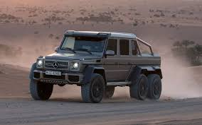mercedes truck lifted mercedes benz g63 amg 6 6 to cost 600 000 in germany truck trend