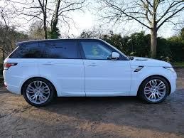 range rover blue and white used fuji white land rover range rover sport for sale hertfordshire