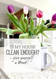Clean My House Is My House Clean Enough Give Yourself A Break