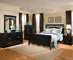 black bedroom furniture conveying formality and elegance photos
