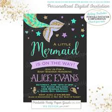 purple and gold baby shower invitation by partyinvitesandmore