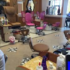 Nail Salon With Kid Chairs La Vie Nails 23 Reviews Nail Salons 110 Flowers Pkwy