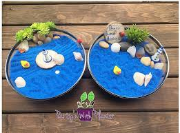 zen sand garden for desk mini zen garden ocean desk accessory diy zen kit sand