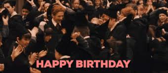 Harry Potter Birthday Meme - harry potter birthday gif by emibob find share on giphy