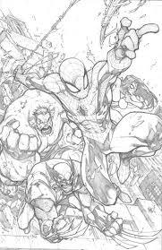 avenging spider man by joe madureira by lemon0 on deviantart