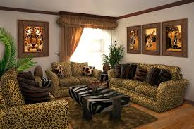 home decorating ideas for living room with photos decorations living room home decor colorful leopard pillows palm