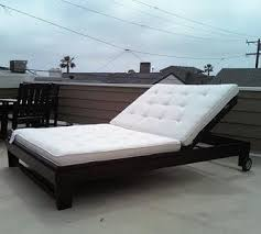 Outdoor Chaise Lounges White Outdoor Chaise Lounge Diy Projects
