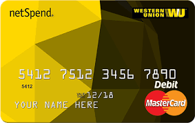 apply for the westernunion netspend prepaid mastercard