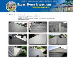 house inspection report sample sample home inspection reports home inspections dallas fort worth sample dallas home inspection report roof covering materials