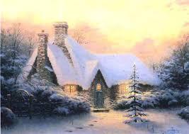 by kinkade tree cottage