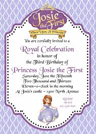 princess sofia party invites wizard of oz birthday cards federal