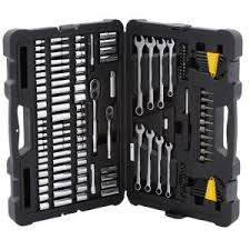 home depot black friday toolbox husky mechanics tool set in metal box 200 piece h200mtsmb the