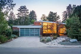 Midcentury Modern Homes For Sale - midcentury modern home with retro orange kitchen asks 660k curbed