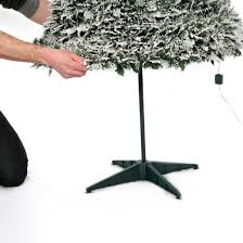6ft pre lit snow flocked pop up tree 200 warm white lights
