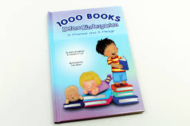1000 books before kindergarten a promise and a pledge 1000