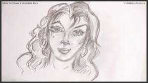 woman u0027s face learn how to draw free