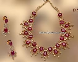 diamond ruby necklace sets images Ruby diamond set by tibarumal jewels jewel diamond and india jpg