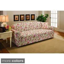 floral sofa floral sofa couch slipcovers for less overstock com